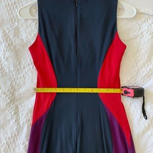 French Connection Dresses - French Connection Sleeveless Colorblock Mini Dress